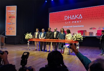 9th edition of Dhaka Lit Fest inaugurated