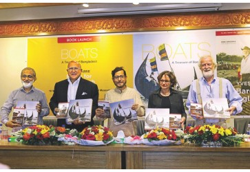 'Preserve traditional wooden boats' Urge speakers at launch of two books